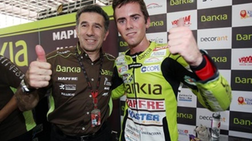 Jorge Martínez Aspar Y El Piloto Del Bankia Aspar Team, Nico Terol