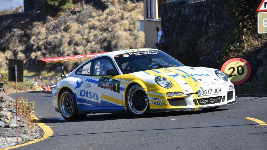 El Porsche 911 GT3 obtuvo una ventaja de ocho segundos sobre el equipo Fuertwagen en el  Rally Comarca Norte de Gran Canaria celebrado a finales de julio.