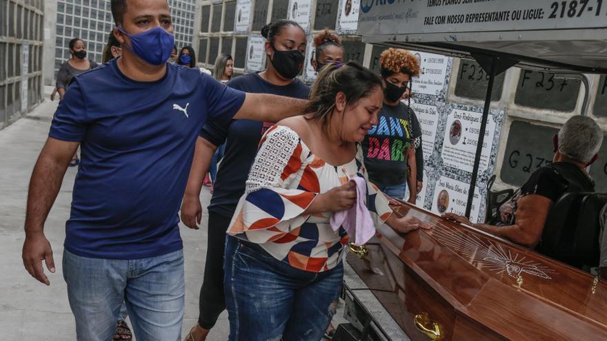 Los asesinatos en Brasil suben en 2020 tras dos años a la baja y superan los 50.000