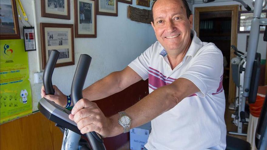"""""""As de corazones"""", la vivencia del único español con 3 trasplantes de corazón"""