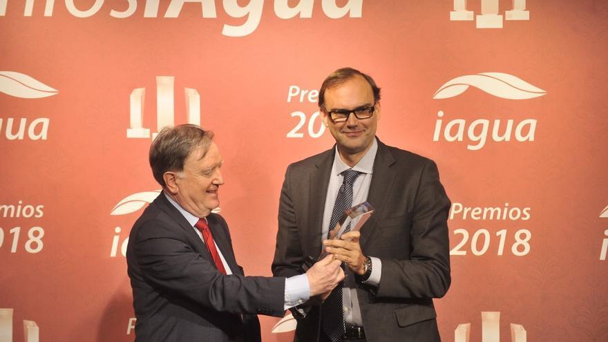 Vicente Fajardo, Director General de Global Omnium, ha recogido el premio en Madrid