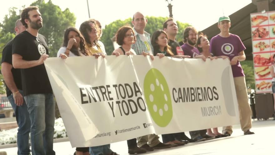 Cambiemos Murcia apura las últimas horas de campaña electoral