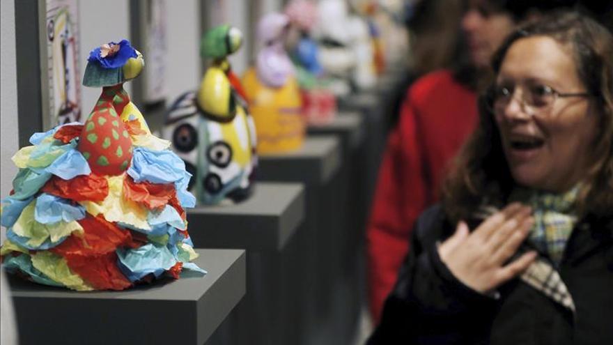 Un grupo de discapacitados recrea las versiones de Picasso sobre las Meninas