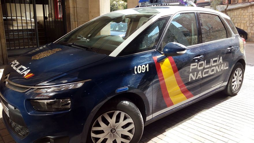 Vehículo de la Policía Nacional, en una imagen de archivo