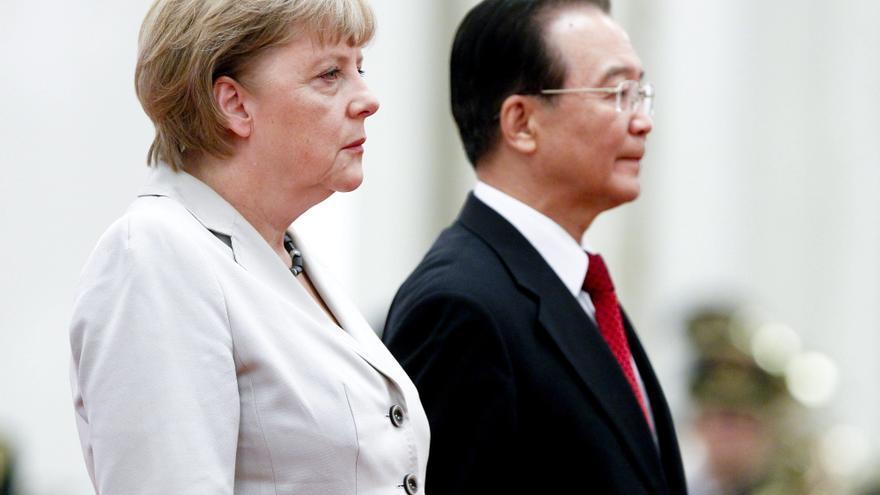 Ai Weiwei bromea sobre Merkel durante la visita de la canciller a China