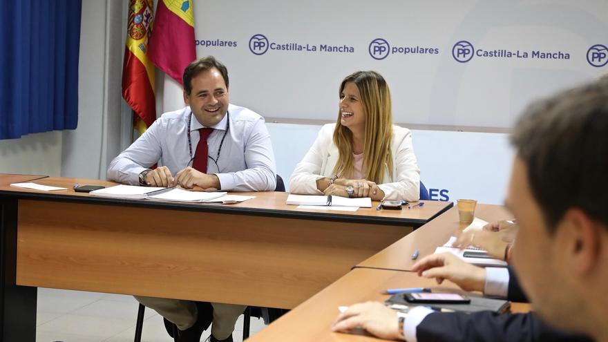 Paco Núñez y Carolina Agudo FOTO: PP Castilla-La Mancha