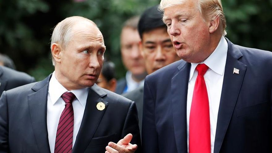 Trump busca un acercamiento con Rusia en medio de tensión con sus aliados