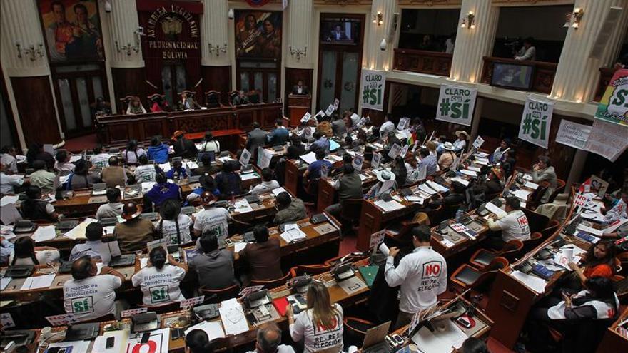 Promulgada la ley de convocatoria a referendo sobre la reelección de Evo Morales