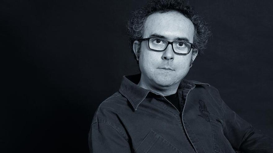 Ángel Gracia, autor de la novela 'Campo rojo'.