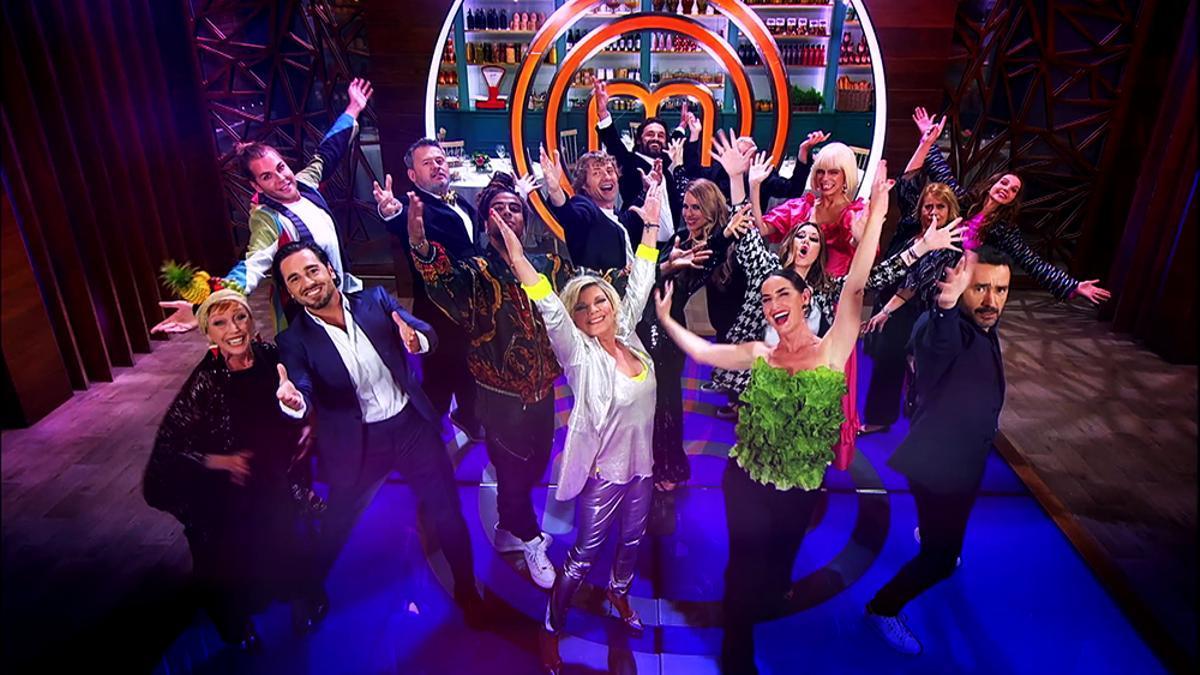 El casting completo de 'MasterChef Celebrity 6', en la cabecera