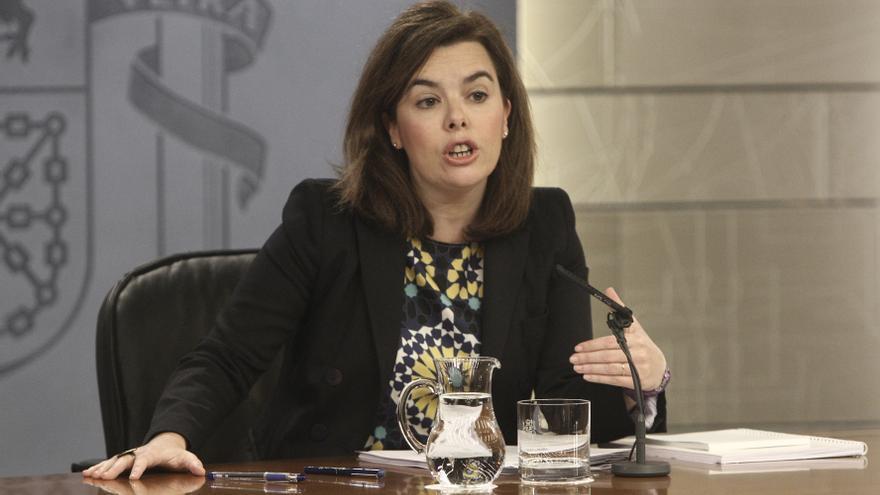 """Santamaría """"respeta"""" la decisión judicial sobre Camps y Barberá y dice que al Gobierno no le corresponde pronunciarse"""