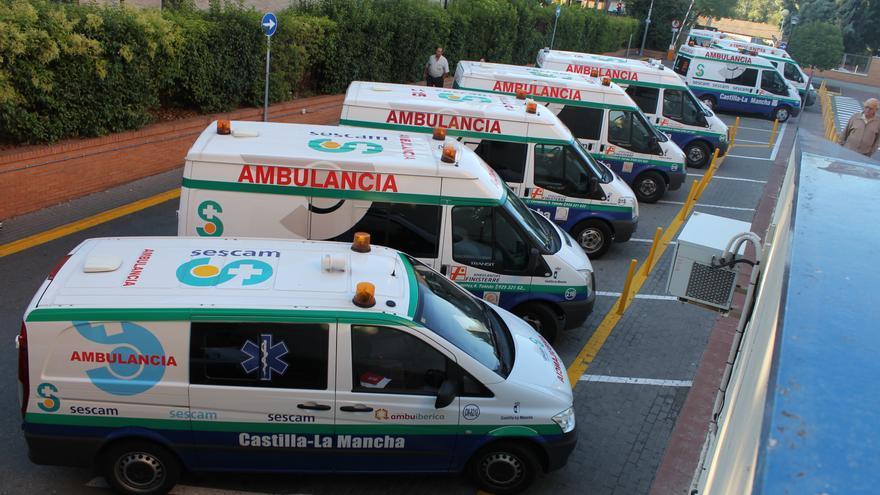 Trabajadores de ambulancias de toda la región se manifestarán en Toledo