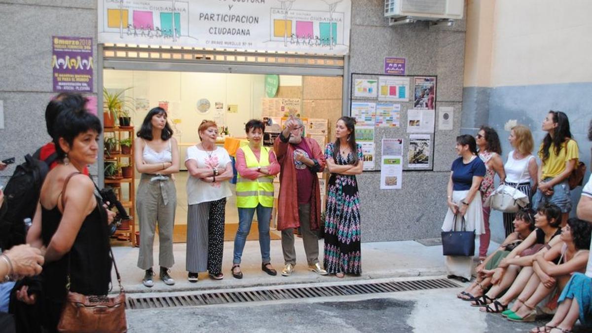 Una de las actividades acogidas en la Casa de Cultura de Chamberí