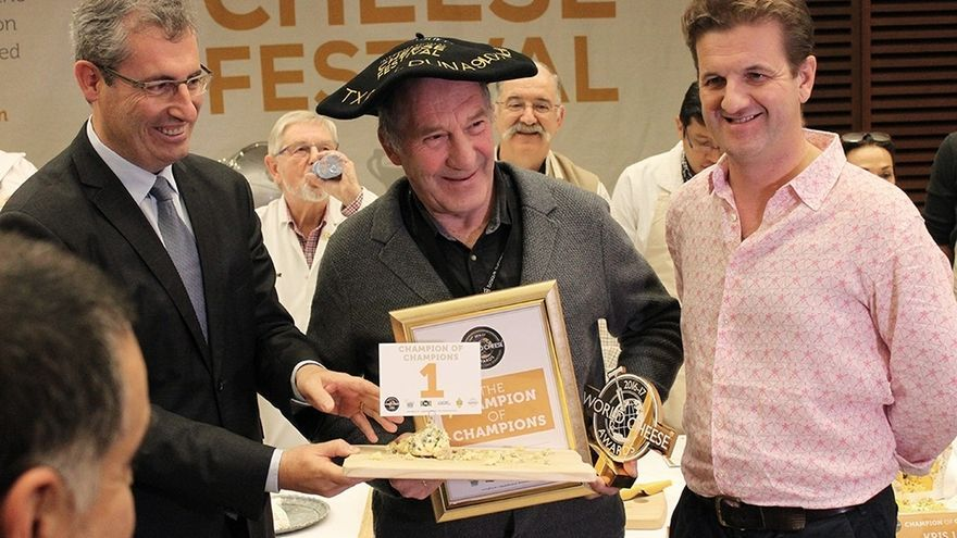 Kraftkar, el queso ganador de la edición del 2016, elegido como 'Campeón de campeones' de los World Cheese Awards