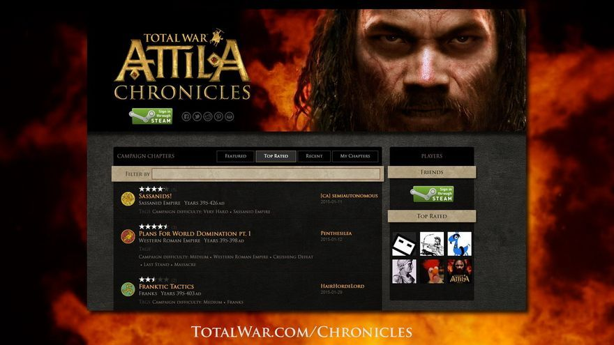 Total War Chronicles para Total War: ATTILA