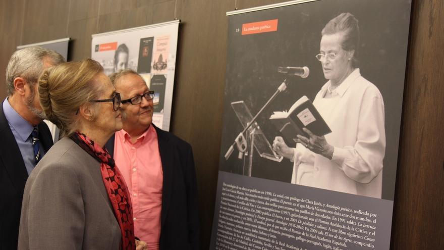 La Diputación pone el nombre de María Victoria Atencia al Centro Cultural Provincial
