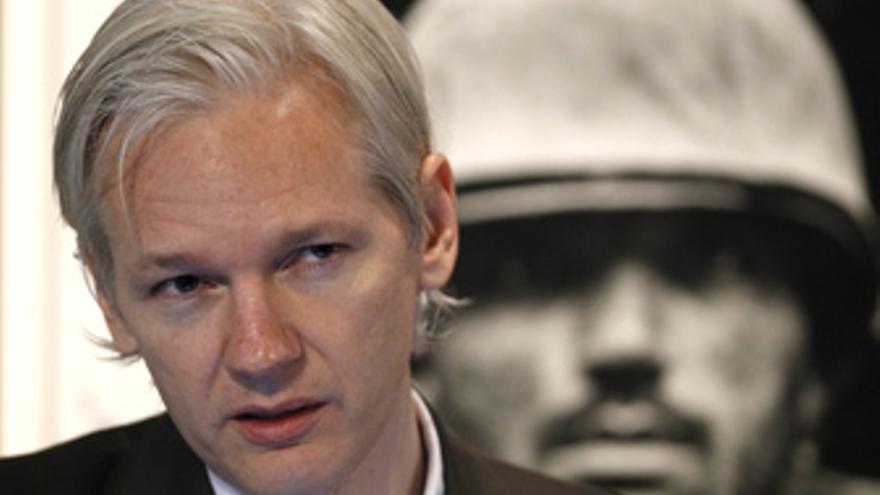 Julian Assange fundador de la web Wikileaks