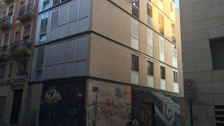 El edificio de la Generalitat ocupado ilegalmente en Velluters