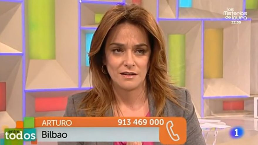 Un espectador pide a Toñi Moreno que done una parte de su salario a los participantes de 'Entre todos'.
