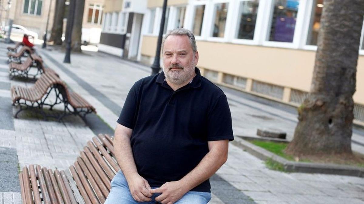 Carlos Babío, autor del libro 'Meirás: un pazo, un caudillo, un expolio'