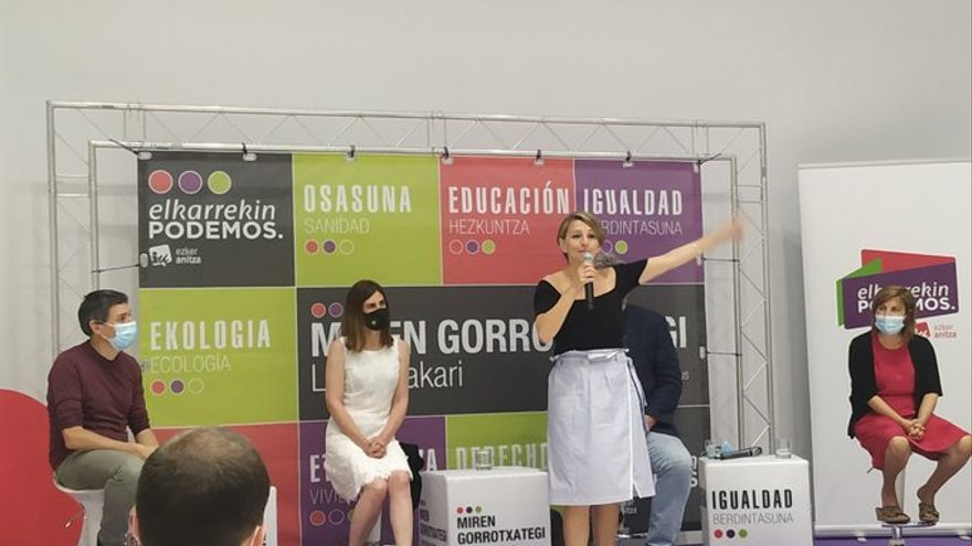 Yolanda Díaz advierte a la derecha de que las medidas sociales aplicadas no tienen vuelta atrás