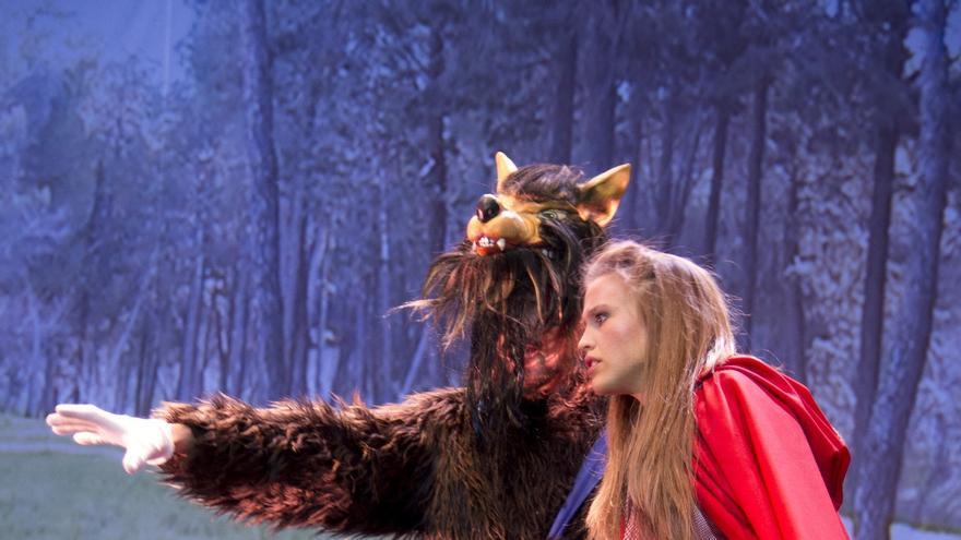La ópera infantil 'Caperucita Roja' llega al Teatro Campos Elíseos de Bilbao este fin de semana