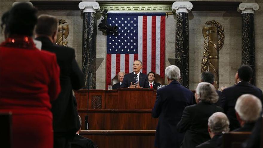 """Obama saca pecho por sus logros y denuncia la retórica """"del miedo"""" republicana"""