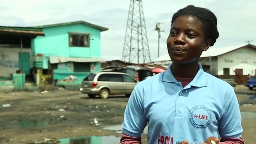 Foto de Jessica T.S Neufville Prevenir el ébola en Liberia puerta a puerta