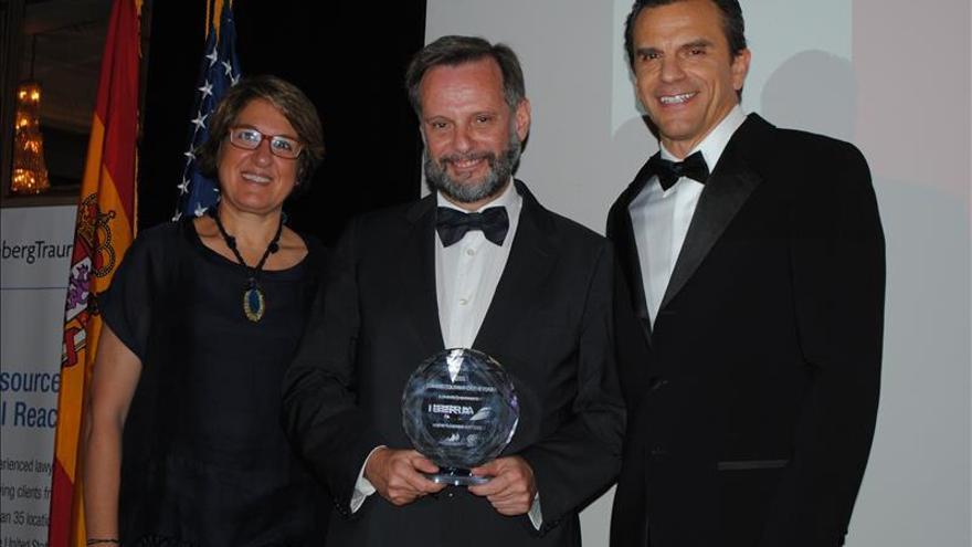 La Cámara de Comercio España-EE.UU. premia a Iberia y Greenberg Traurig