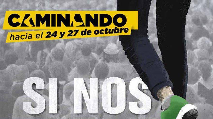 Cartel movilizaciones 24-27 de octubre