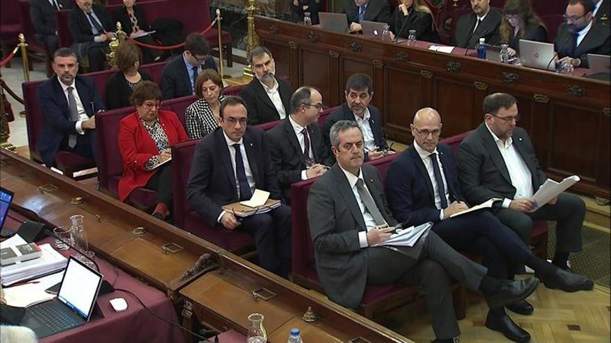 La hora de los acusados en el juicio del procés: Hoy declara Junqueras