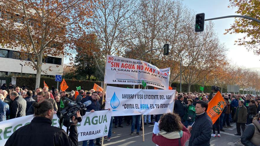 Protesta en Ciudad Real