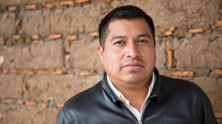Heriberto Guzmán ha migrado en dos ocasiones a EEUU (Salva Campillo/AEA)