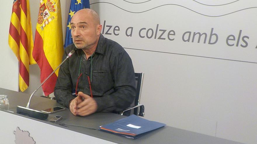 El diputado de Cultura, Xavi Rius