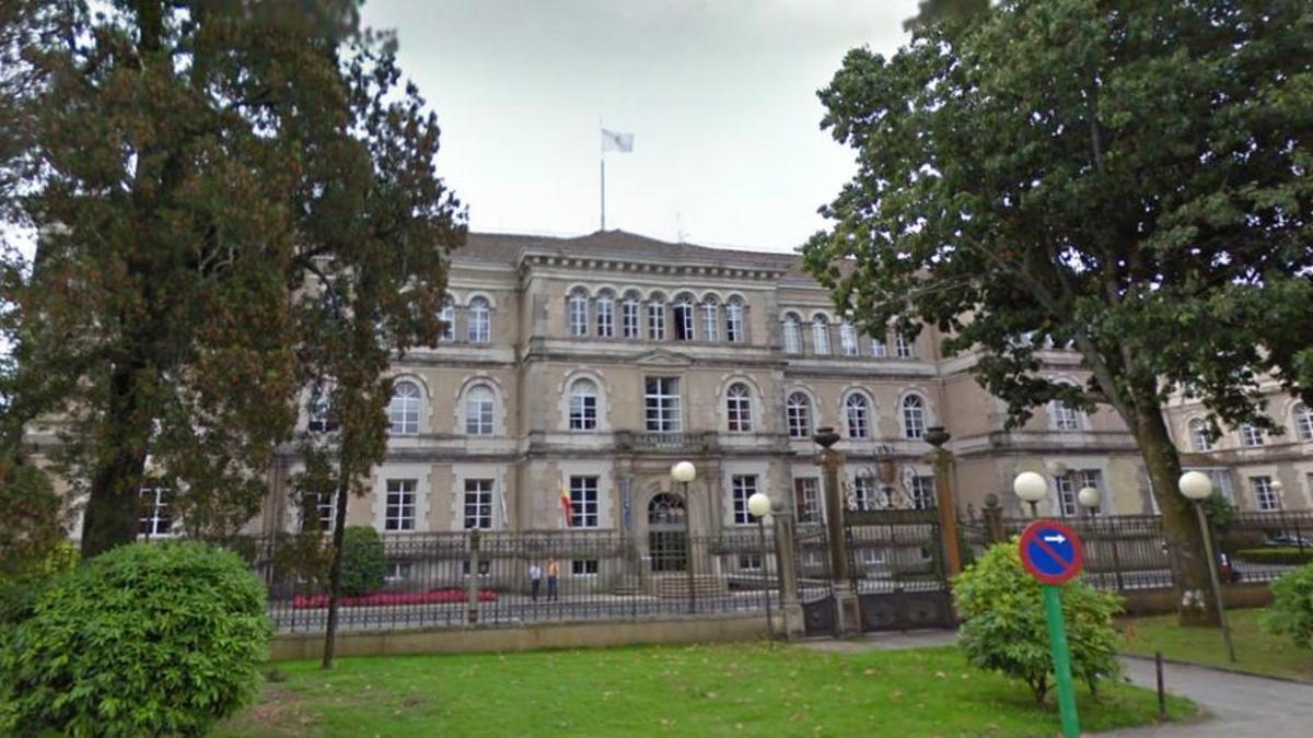 Edificio de San Caetano, sede central de las oficinas administrativas de la Xunta