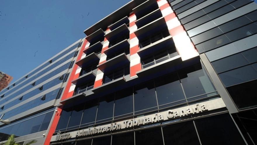 Sede de la Agencia Tributaria Canaria en la provincia tinerfeña, en la capital Santa Cruz