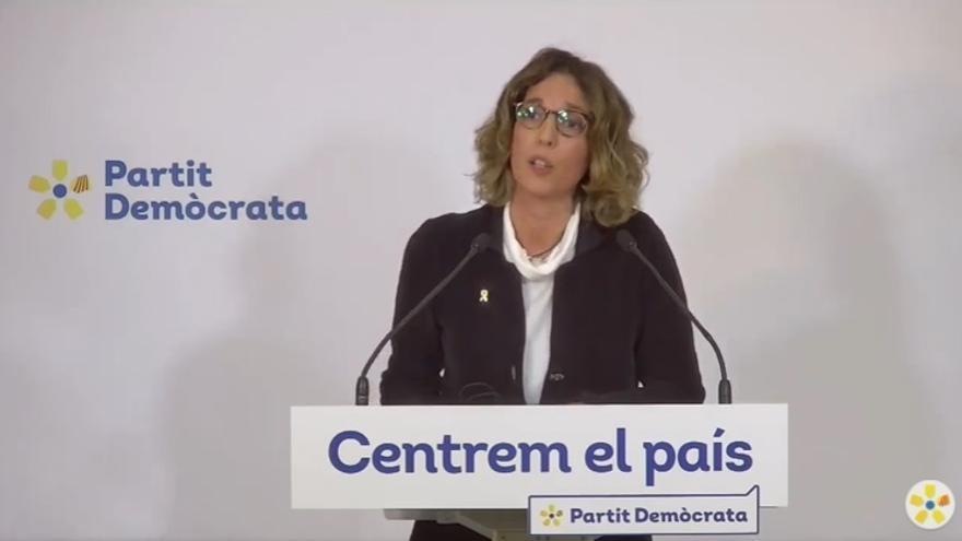 La candidata del PDeCAT a las elecciones catalanas, Àngels Chacón.