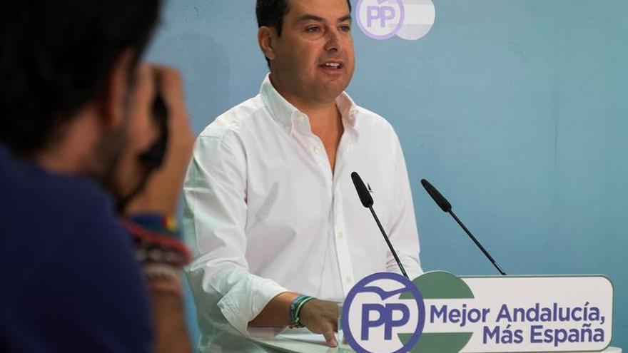"""Moreno tacha a Díaz de ir """"de la mano"""" de Sánchez en un bloqueo """"absurdo"""""""