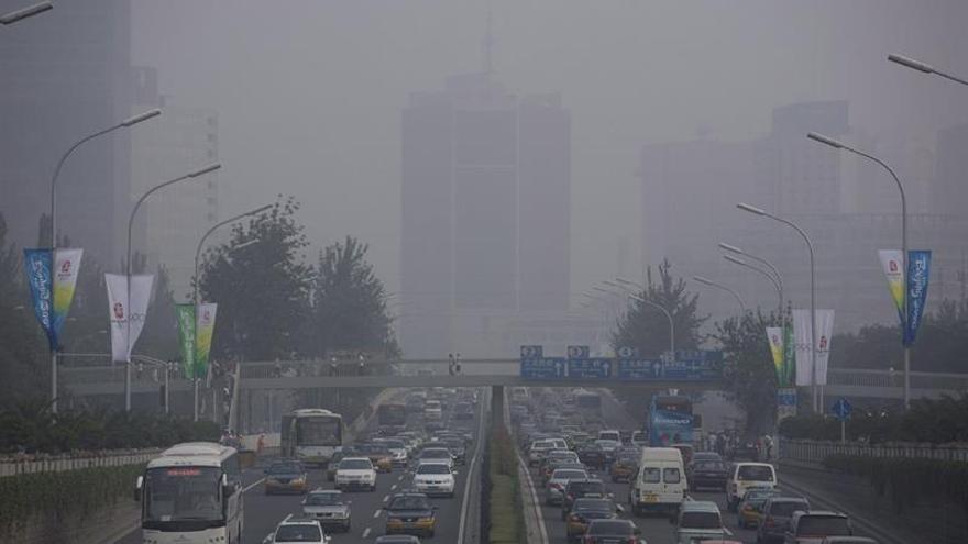 Un total de 25 ciudades chinas en alerta roja por contaminación