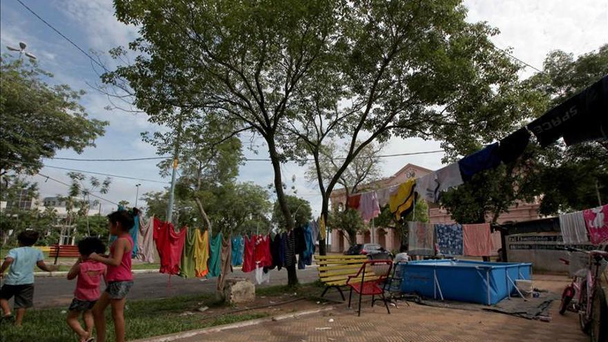 La ciudad de Alberdi desoye al Gobierno y rechaza la evacuación ante la crecida del río Paraguay