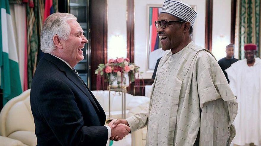 El presidente de Nigeria aspirará a la reelección en 2019
