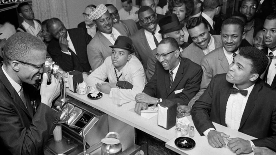 Ali tuvo una estrecha relación con Malcolm X.