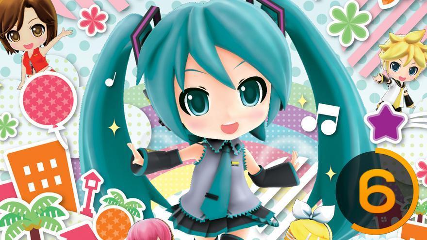 Hatsune Miku: Project Mirai DX. Vocaloid