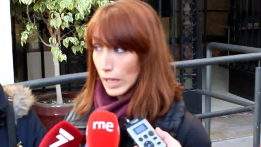 Ana Sánchez, mujer del guardia civil encarcelado por insultar a un superior / PSS