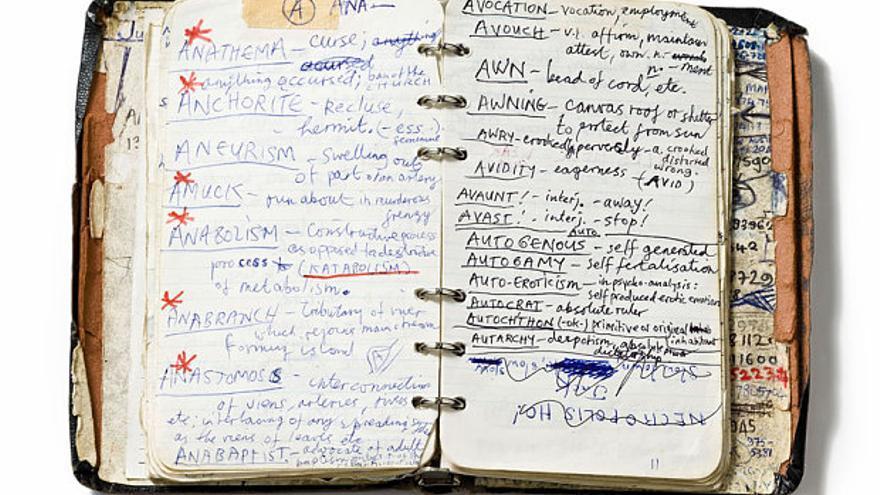 Por ejemplo, la agenda de Nick Cave