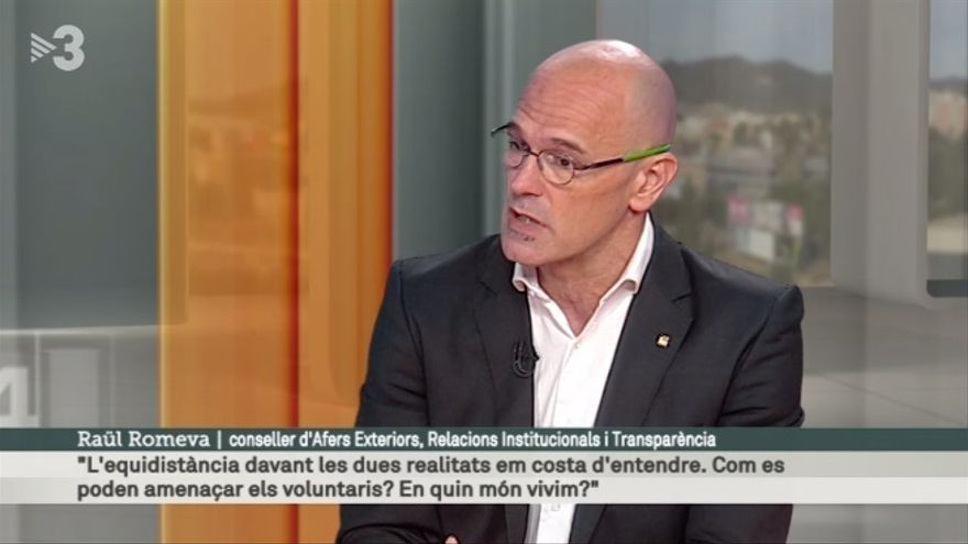 """Romeva dice que en el exterior """"nadie ha dicho que Cataluña no pueda votar"""""""