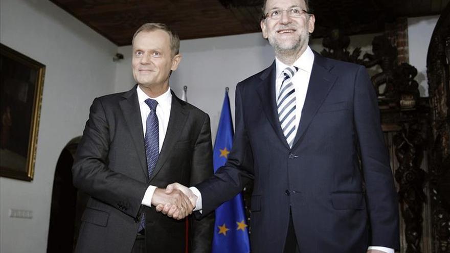 Rajoy analizará con Tusk los datos económicos de la UE y la lucha contra el yihadismo