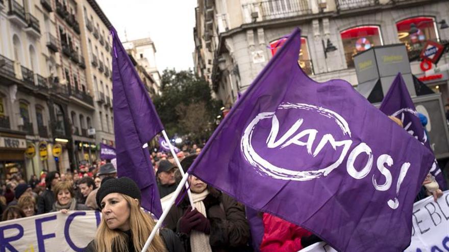 """Cientos de personas reclaman en Madrid """"el derecho a tener derechos"""""""