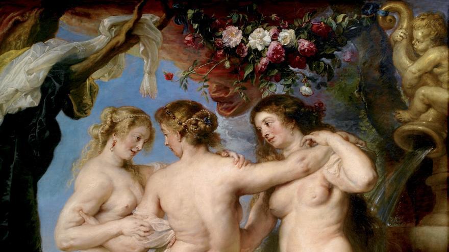 'Las tres gracias`de Pedro Pablo Rubens (1630 - 1635)