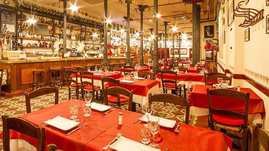 Taberna y restaurante Casa Patas, histórico tablao flamenco de Madrid que ha cerrado por el coronavirus